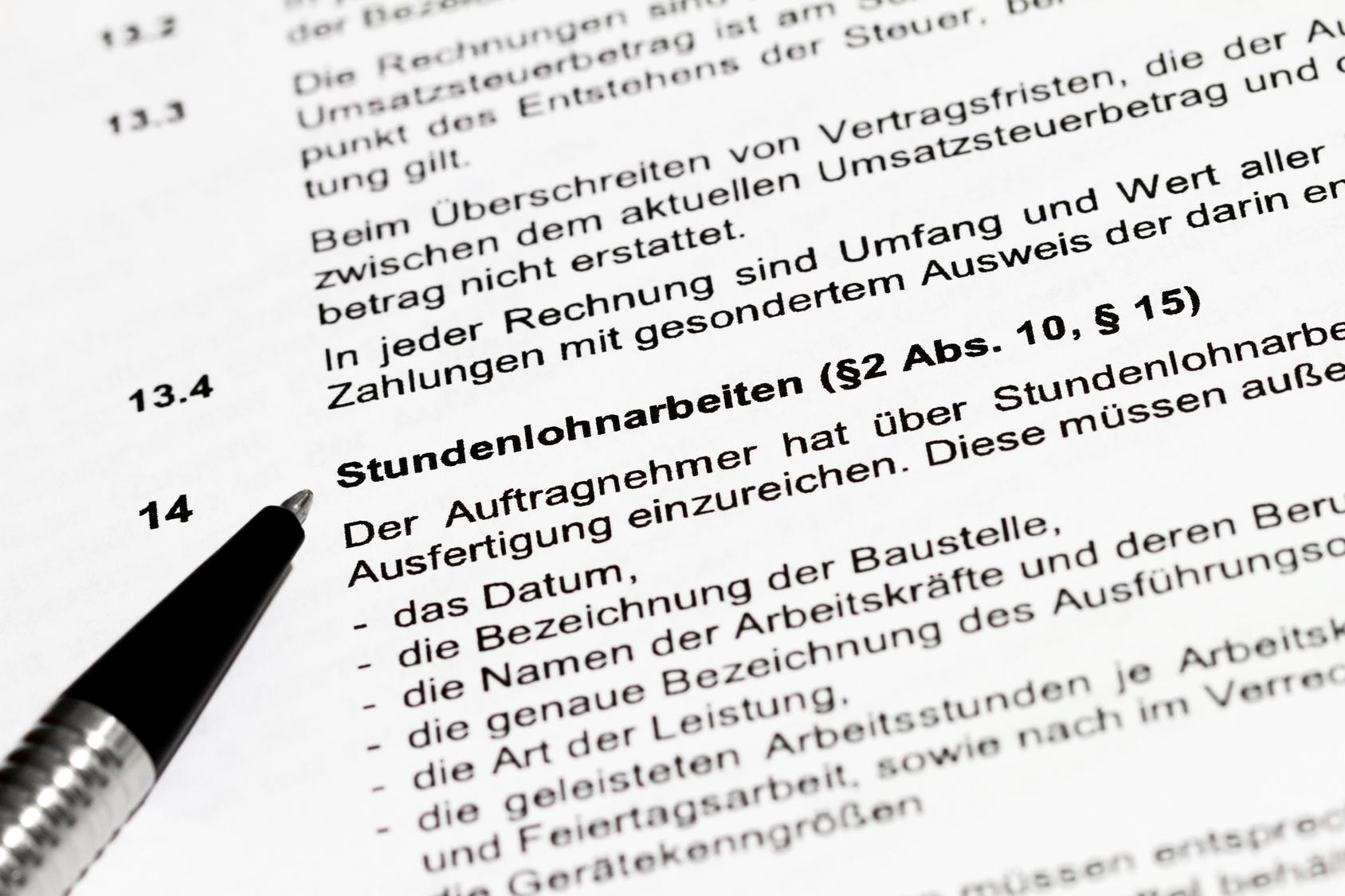 Ansprüche aus Auftrag / Dienstleistungsvertrag prüfen